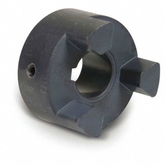 L095 Size 3/4 in Sintered Iron Jaw Coupling Hub, Keyway Size Type: 3/16 in x 3/32 in