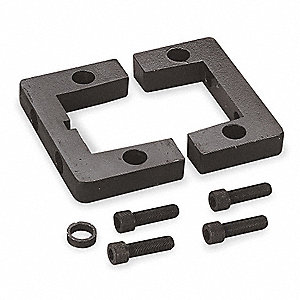 Steel Side Lug Mount&#x3b; Includes 4 Bolts