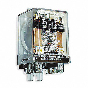 Super Dayton 24Vac 8 Pin Side Flange Enclosed Power Relay Electrical Wiring Cloud Philuggs Outletorg