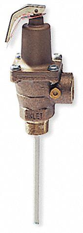 Temperature And Pressure Relief Valves