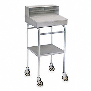 Mobile Work Center,300 lb.,22 In. W