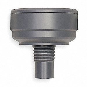 PVC Noncontact Ultrasonic Level Sensor, 0.33 to 6 ft. Range