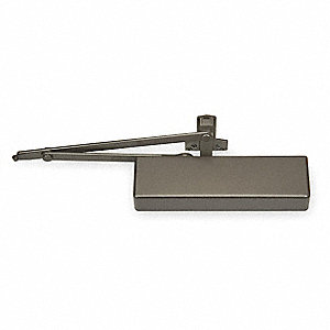 Hydraulic, Heavy Duty, Non-Handed, Dark Bronze Door Closer