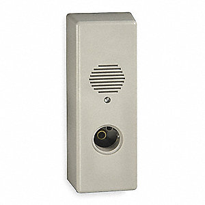 Exit Door Alarm, Horn, 105dB, Gray