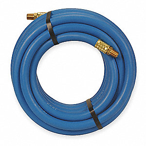 25 ft. Air Hose, Pneumatic Hose Max. Pressure: 300 psi, Blue