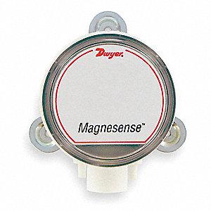 PRESSURE TRANSMITTER, RANGE TO 0.5