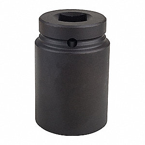 Impact Socket,1 In Dr,1-3/4 In,6 pt