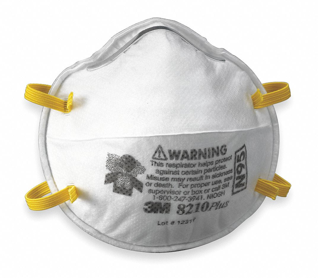 Universal Pk Disposable Respirator N95 20 Molded