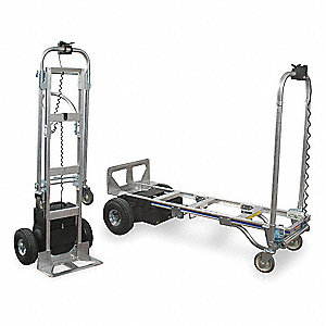 Convertible Hand Truck, Continuous Loop, 1200 lb., Overall Height 61-3/4""