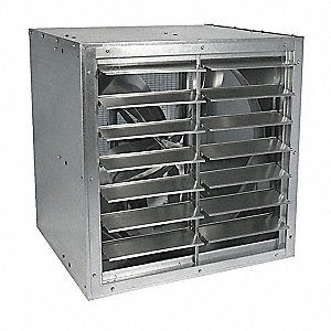 CABINET EXHAUST FAN,36 IN,115/208-230 V