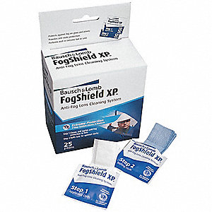 FogShield XP Pre-Moistened Towelette Station, Silicone Solution Type, Anti-Fog, Anti-Static Lens Treatmen