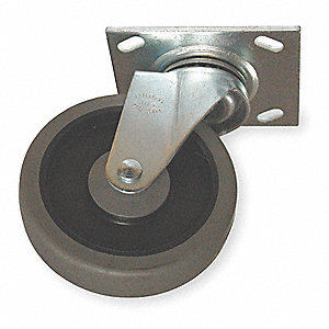 Swivel Caster,For Use With 3LU61-2