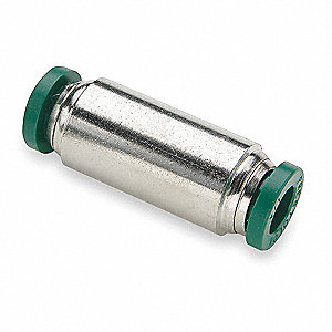 "Nickel Plated Brass Union, 3/8"" Tube Size"
