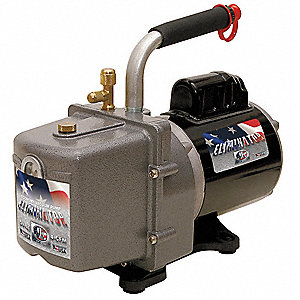 Refrig Evacuation Pump,4.0 cfm,6 ft.