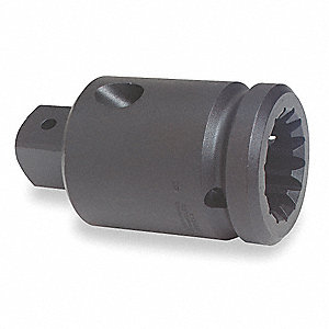 Impact Socket Adapter,#5 x 1In