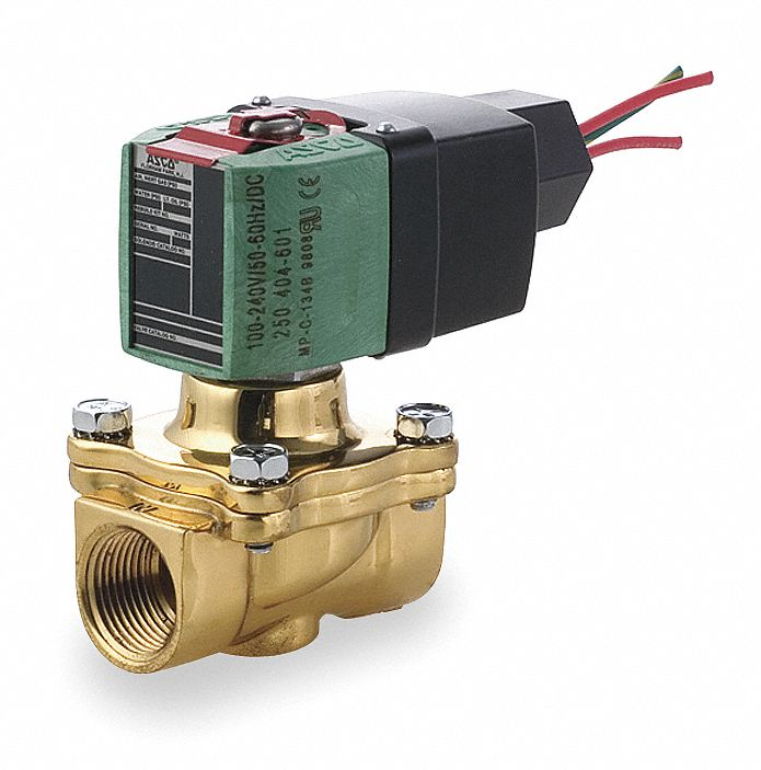 Air Oil And Water Solenoid Valves