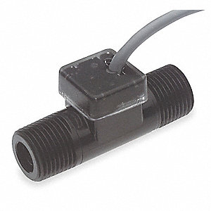 Turbine Flow Rate Sensor, 3800 Pulses per Gallon
