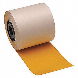 "Yellow Vinyl Film Label Tape Cartridge, Indoor/Outdoor Label Type, 100 ft. Length, 4"" Width"