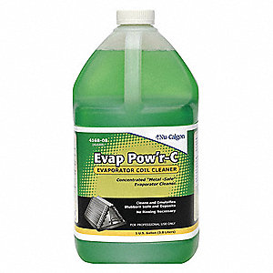 Liquid Evaporator Cleaner, 1 gal., Green Color, 1 EA