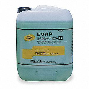 Liquid Evaporator Cleaner, 2.5 gal., Green Color, 1 EA