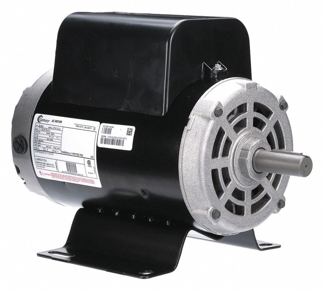 CENTURY Air Compr Mtr5 HP3450 rpm208230V56Y 1ATA8B384 Grainger