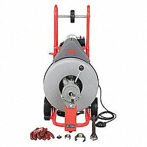 Ridgid Cleaner Drain K750 W C100 Drain Cleaning Machines