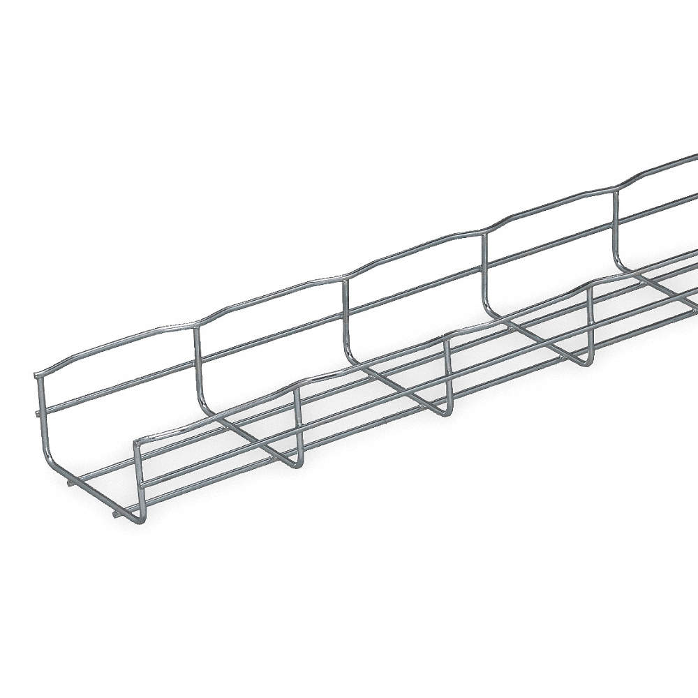 CABLOFIL 6-1/2 ft. Steel Wire Mesh Cable Tray, 22 lb. per ft., 6 ft ...