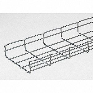 CABLOFIL 6-1/2 ft. Steel Wire Mesh Cable Tray, 36 lb. per ft., 6 ft ...