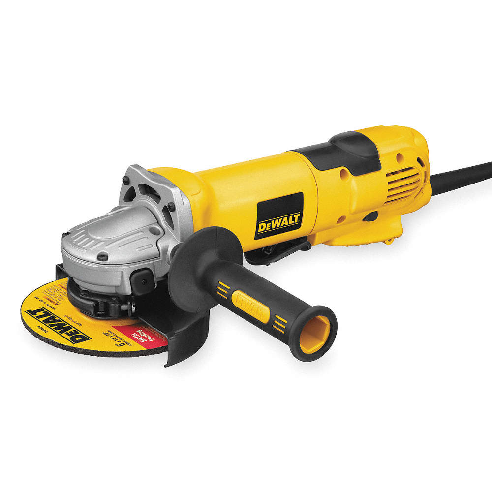 6 In Angle Grinder No Load RPM 9000