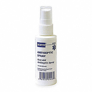 Antiseptic Spray, 2 oz. Spray Bottle
