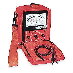 Analog Multimeter, 600 Max. AC Volts