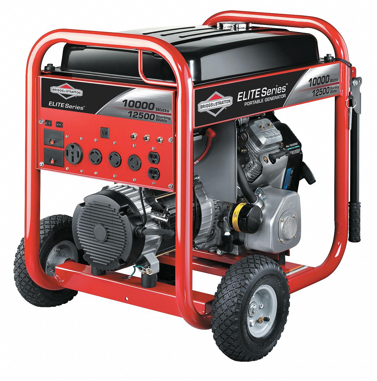 BRIGGS & STRATTON Portable Generator W 570cc 1AYG7