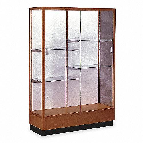 Waddell display vitrina d exibici n p pisos estan madera - Imagenes de vitrinas de madera ...