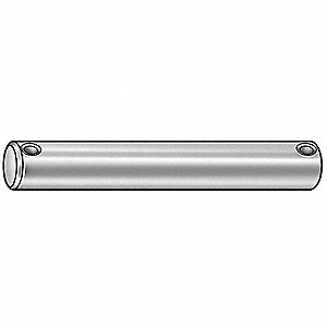 Clevis Pin,Headless,Zinc,0.250x1 In