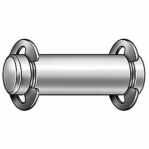 Clevis Pin,Hdlss,1/2 x2 29/32L,w/2 Rings