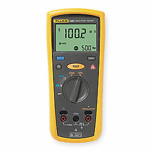 Multiline LCD Battery Operated Megohmmeter; Insulation Resistance Range: 0.1 to 2000 megohm