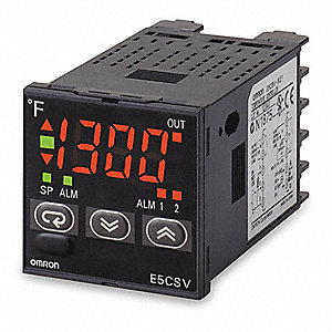 1/16 DIN TEMP CONTROLLER,ON/OFF OR