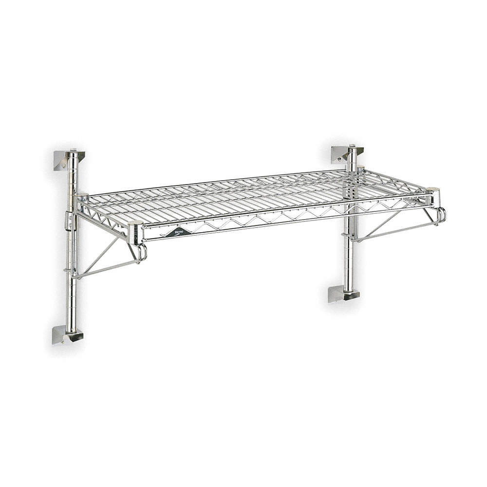 Metro Ventilated Stainless Steel Wire Wall Shelf 48w X 24d X 14h