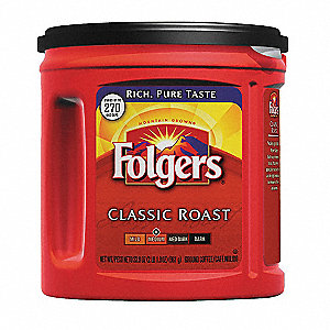 Classic Roast Coffee, 33.9 oz. Canister, Makes 240 to 270 Cups