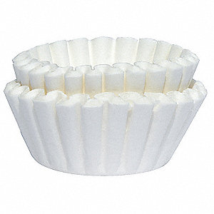 Coffee Filters,9-3/4in,PK1000