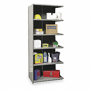 Shelving,Closed,Add-On,Steel,87""