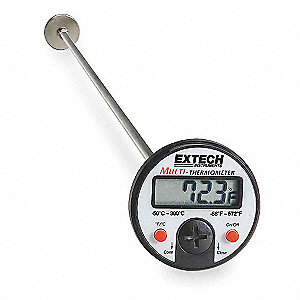 Digital Pocket Thermometer,Plastic,5 In.