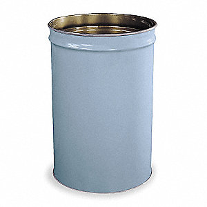 Gray Cigarette Receptacle