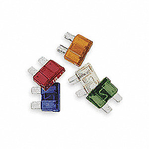 30A Fast Acting, Nonindicating Plastic Fuse with 32VDC Voltage Rating; ATC Series, Green