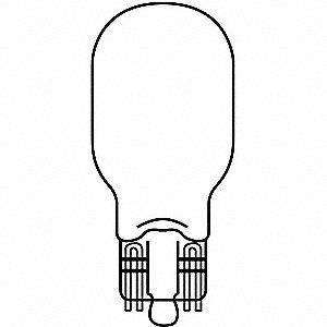 Miniature Lamp,912,13W,T5,13V,PK2