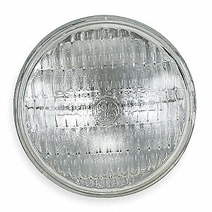 650 Watts Halogen Sealed Beam Lamp, PAR36, Ferrule, 24,000 Lumens, 3200K Bulb Color Temp.