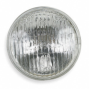 Incand Sealed Beam Lamp,PAR46,60/80W