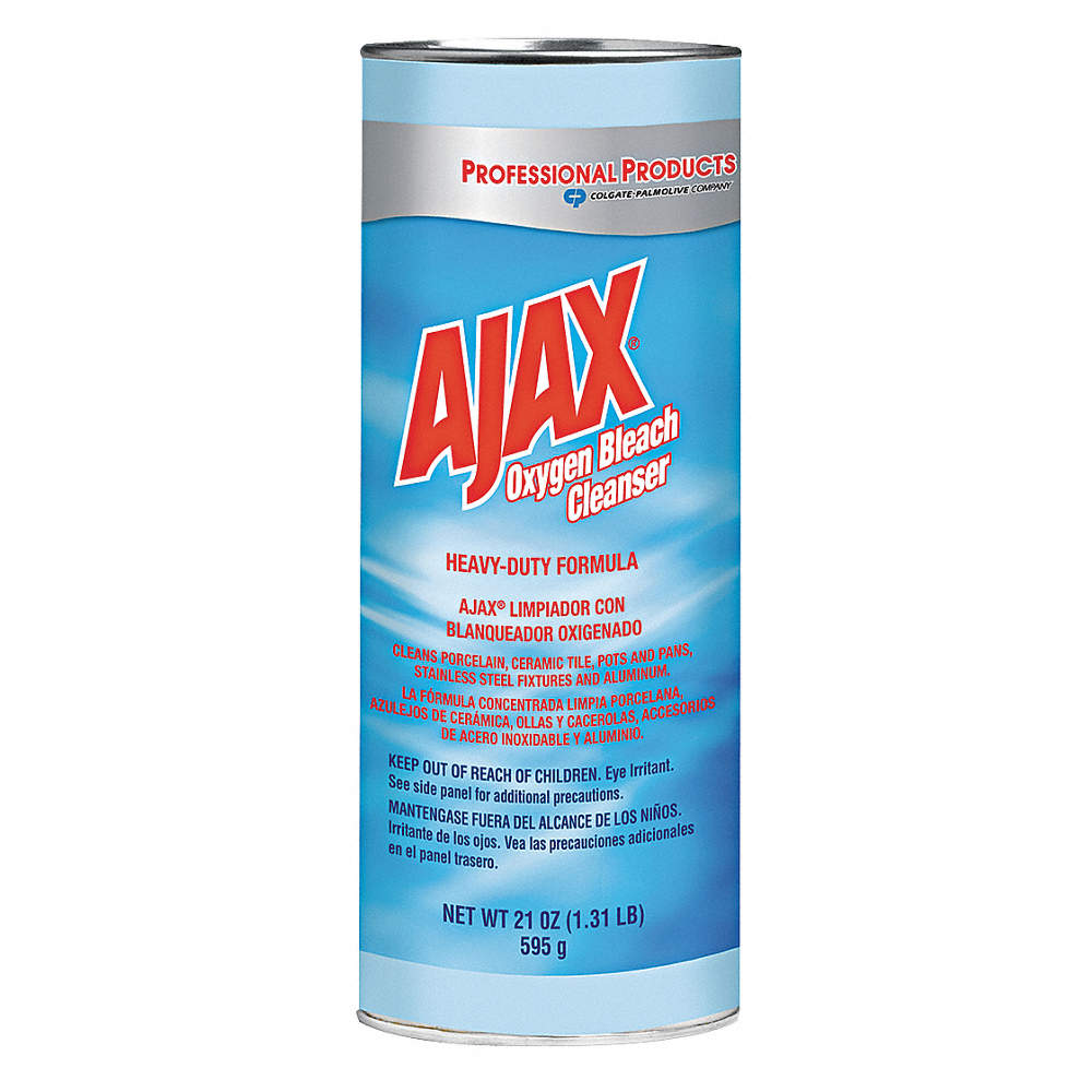 AJAX Kitchen And Bathroom Cleaner Oz Canister Unscented Powder - Kitchen and bathroom cleaner