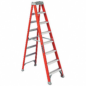 8 ft. 300 lb. Load Capacity Fiberglass Stepladder