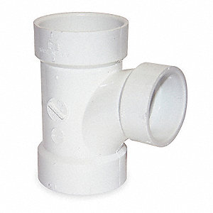 REDUCING SANITARY TEE,2 X 1 1/2 X 1